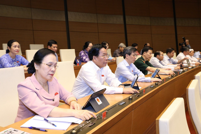 Quốc hội thông qua cơ chế, chính sách đặc thù cho Hà Nội - Ảnh 1.