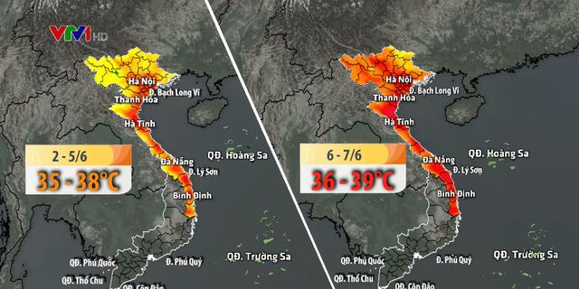 Trong tháng 6, Bắc Bộ có bao nhiêu đợt nắng nóng? - Ảnh 1.