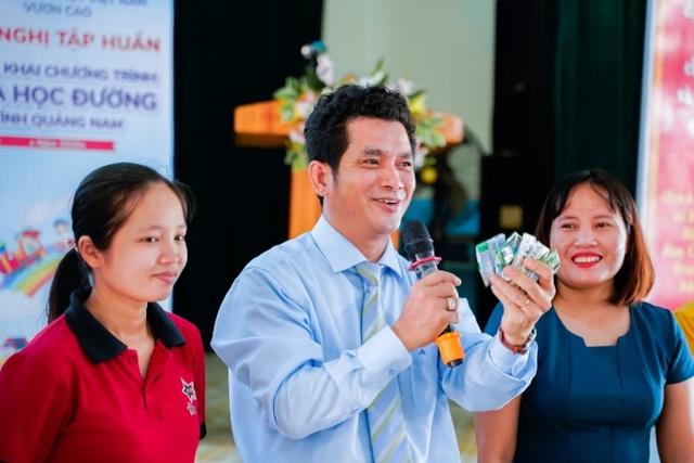 Quảng Nam triển khai Sữa học đường, trẻ em được uống sữa miễn phí - Ảnh 5.