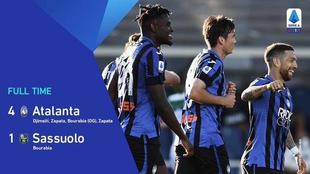 Kết quả, BXH VĐQG Italia Serie A: Atalanta 4-1 Sassuolo, Inter 2-1 Sampdoria - Ảnh 3.