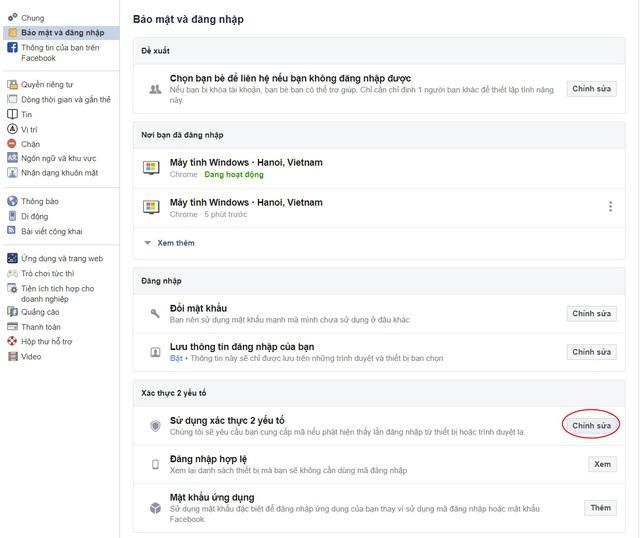 Những cách bảo mật giúp tài khoản Facebook không bị hack - Ảnh 1.
