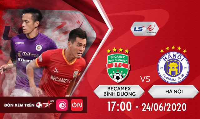 V-League vòng 6: ĐKVĐ Hà Nội và chuyến làm khách bão táp ở Bình Dương (17h, 24/6) - Ảnh 1.