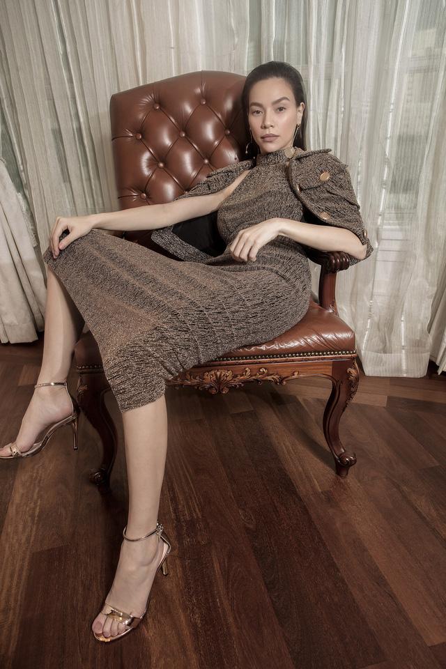 Ngắm Hồ Ngọc Hà và Thanh Hằng trong BST mới của Công Trí, từng xuất hiện trên Vogue Paris - Ảnh 5.