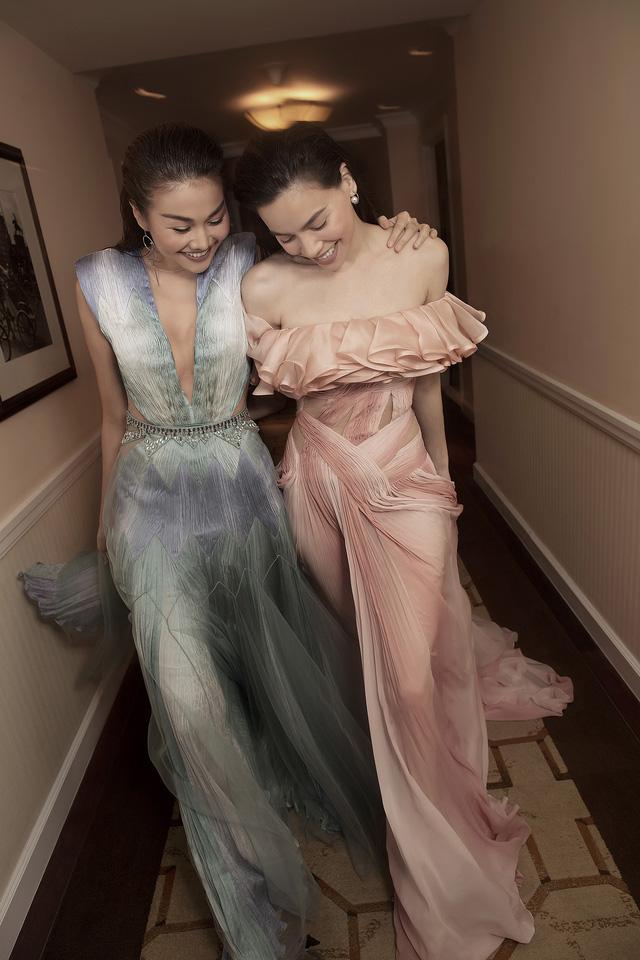 Ngắm Hồ Ngọc Hà và Thanh Hằng trong BST mới của Công Trí, từng xuất hiện trên Vogue Paris - Ảnh 19.