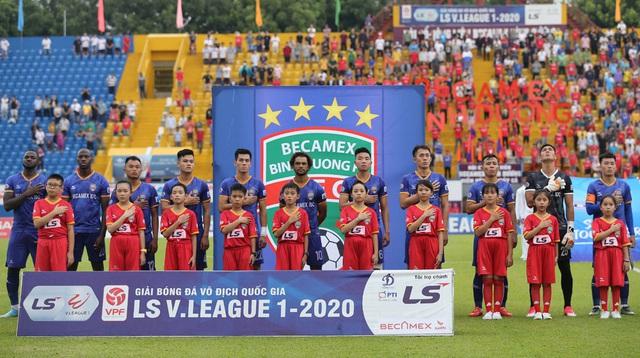 ẢNH: CLB Hà Nội tìm lại niềm vui chiến thắng ngay trên sân của B.Bình Dương (Vòng 6 V.League 2020) - Ảnh 3.