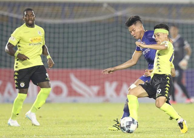 ẢNH: CLB Hà Nội tìm lại niềm vui chiến thắng ngay trên sân của B.Bình Dương (Vòng 6 V.League 2020) - Ảnh 5.