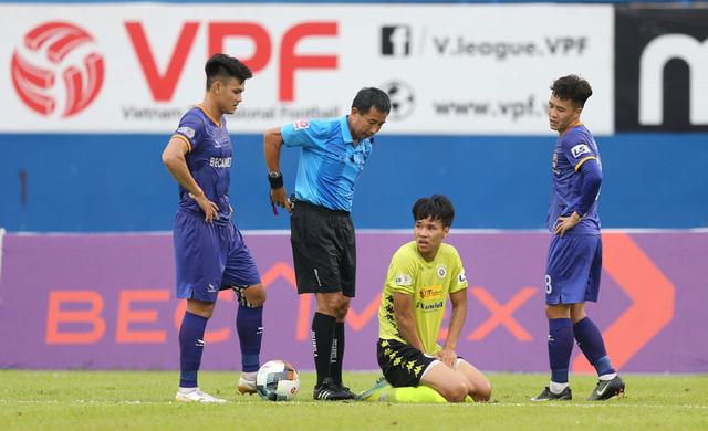 ẢNH: CLB Hà Nội tìm lại niềm vui chiến thắng ngay trên sân của B.Bình Dương (Vòng 6 V.League 2020) - Ảnh 9.