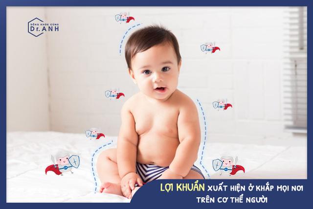Vai trò quan trọng của lợi khuẩn trong việc bảo vệ làn da cho bé yêu - Ảnh 1.
