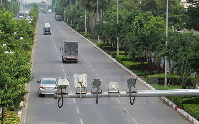 Tăng cường giám sát qua camera trên đường cao tốc - Ảnh 1.