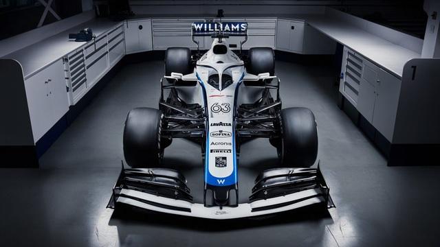 Đội đua Williams công bố thiết kế xe mới cho mùa giải 2020 - Ảnh 3.