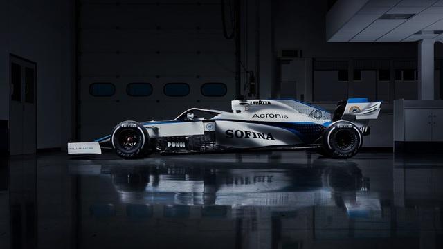 Đội đua Williams công bố thiết kế xe mới cho mùa giải 2020 - Ảnh 1.