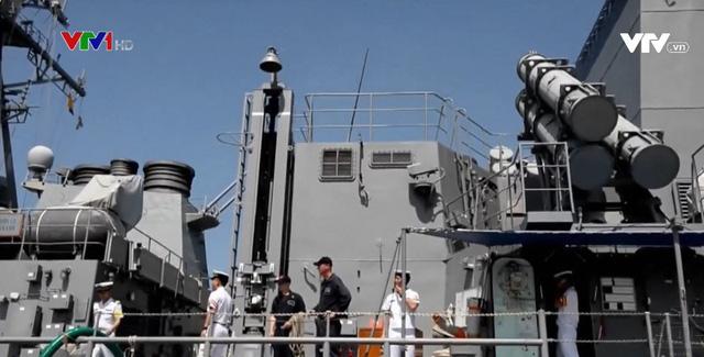 Diễn tập hải quân Ấn Độ - Nhật Bản giữa lúc căng thẳng Trung - Ấn - Ảnh 1.