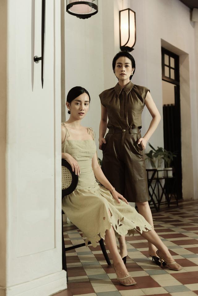 Gái một con Phí Linh nam tính bên MC Quỳnh Chi nữ tính và mềm mại - Ảnh 2.