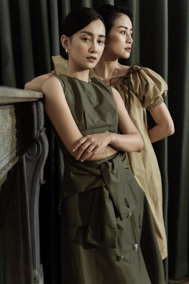 Gái một con Phí Linh nam tính bên MC Quỳnh Chi nữ tính và mềm mại - Ảnh 7.