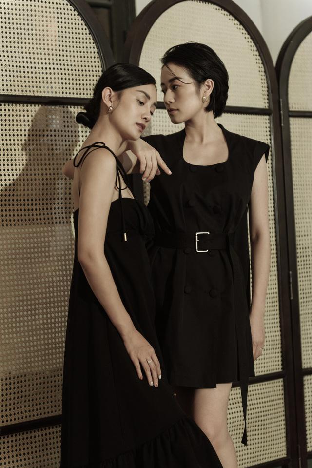 Gái một con Phí Linh nam tính bên MC Quỳnh Chi nữ tính và mềm mại - Ảnh 8.