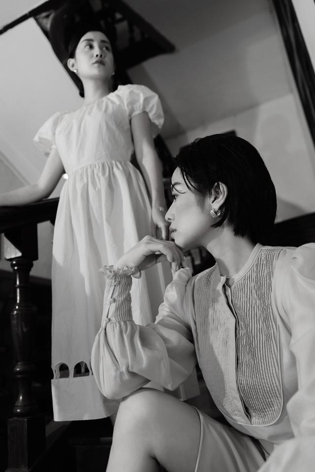 Gái một con Phí Linh nam tính bên MC Quỳnh Chi nữ tính và mềm mại - Ảnh 10.