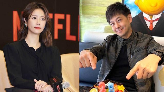 Chồng và tình cũ của Lâm Tâm Như vui vẻ chụp ảnh cùng nhau - Ảnh 2.