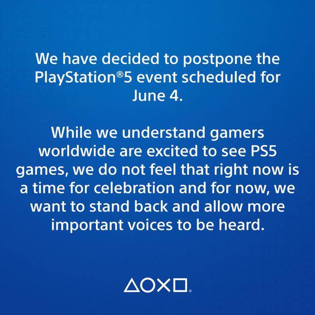 Sony bất ngờ hoãn sự kiện giới thiệu game mới cho PlayStation 5 - ảnh 1