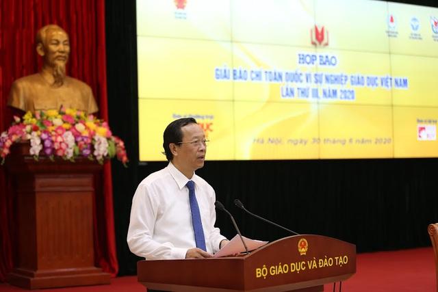 Phát động Giải Báo chí toàn quốc Vì sự nghiệp Giáo dục Việt Nam năm 2020 - Ảnh 1.