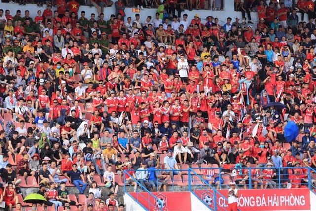 Chùm ảnh: HAGL chia điểm nhạt nhòa trước CLB Hải Phòng (Vòng 7 V.League 2020) - Ảnh 2.