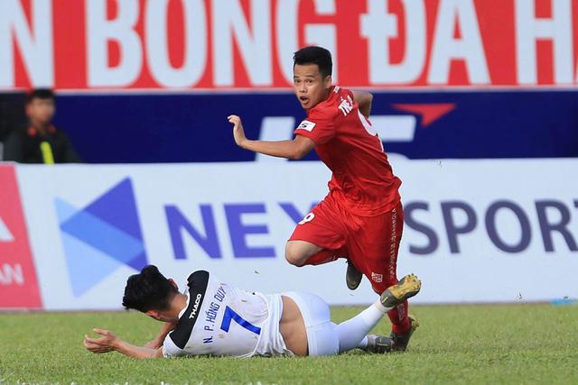 Chùm ảnh: HAGL chia điểm nhạt nhòa trước CLB Hải Phòng (Vòng 7 V.League 2020) - Ảnh 12.