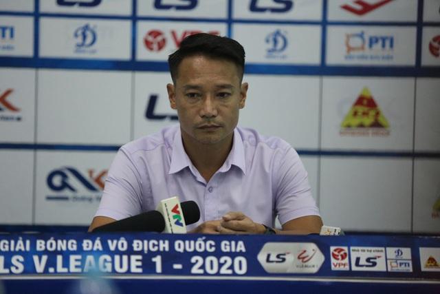 Chùm ảnh: CLB Viettel thắng đậm CLB Quảng Nam ngay trên sân khách (Vòng 7 V.League 2020) - Ảnh 12.