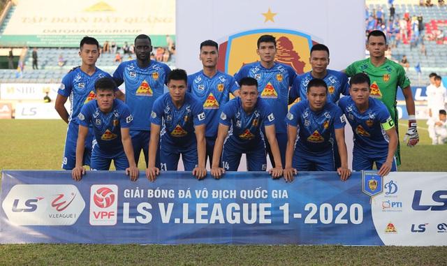 Chùm ảnh: CLB Viettel thắng đậm CLB Quảng Nam ngay trên sân khách (Vòng 7 V.League 2020) - Ảnh 2.