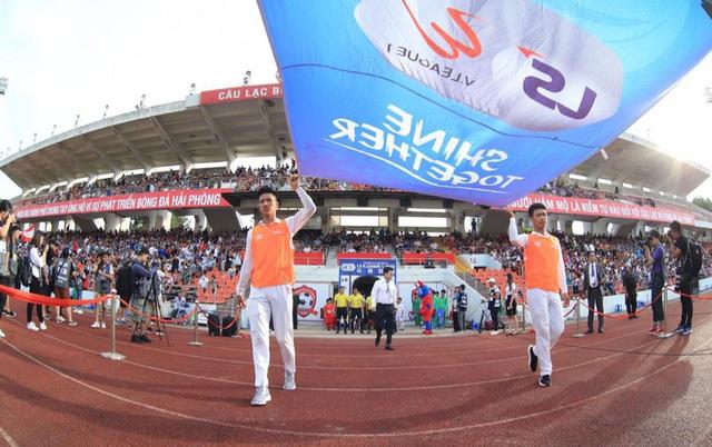 Chùm ảnh: HAGL chia điểm nhạt nhòa trước CLB Hải Phòng (Vòng 7 V.League 2020) - Ảnh 3.
