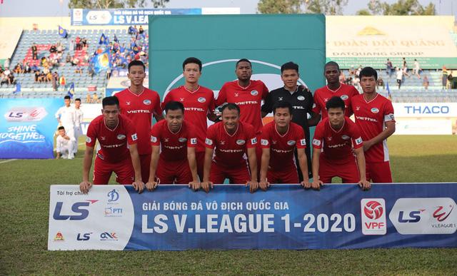 Chùm ảnh: CLB Viettel thắng đậm CLB Quảng Nam ngay trên sân khách (Vòng 7 V.League 2020) - Ảnh 3.
