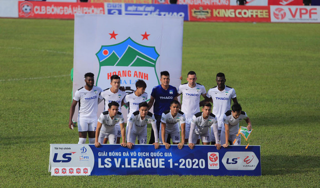 Chùm ảnh: HAGL chia điểm nhạt nhòa trước CLB Hải Phòng (Vòng 7 V.League 2020) - Ảnh 4.
