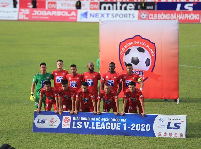 Chùm ảnh: HAGL chia điểm nhạt nhòa trước CLB Hải Phòng (Vòng 7 V.League 2020) - Ảnh 5.