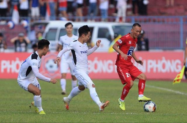 Chùm ảnh: HAGL chia điểm nhạt nhòa trước CLB Hải Phòng (Vòng 7 V.League 2020) - Ảnh 7.