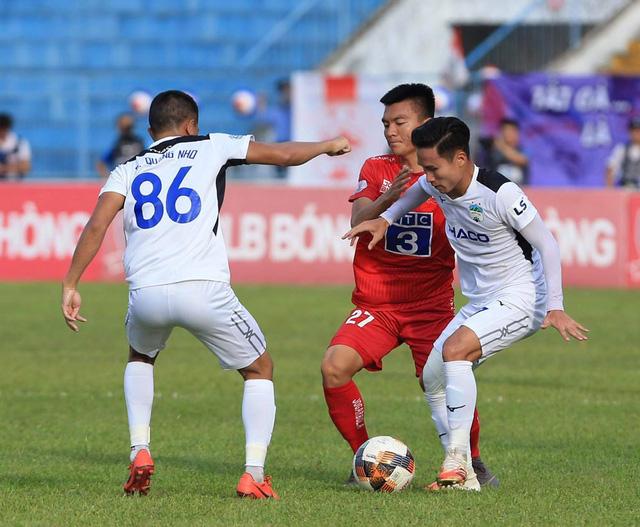 Chùm ảnh: HAGL chia điểm nhạt nhòa trước CLB Hải Phòng (Vòng 7 V.League 2020) - Ảnh 8.