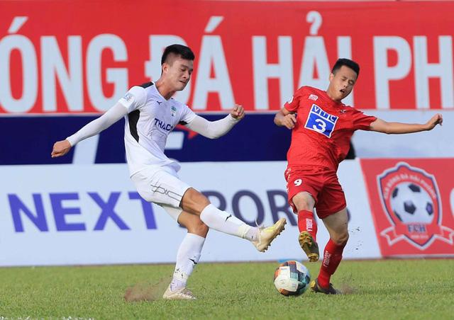 Chùm ảnh: HAGL chia điểm nhạt nhòa trước CLB Hải Phòng (Vòng 7 V.League 2020) - Ảnh 9.