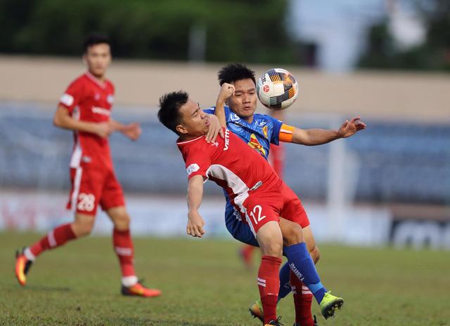 Chùm ảnh: CLB Viettel thắng đậm CLB Quảng Nam ngay trên sân khách (Vòng 7 V.League 2020) - Ảnh 9.