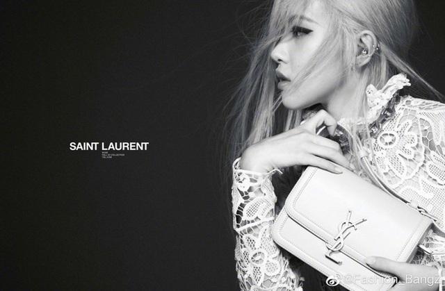 Rosé (BLACKPINK) trở thành đại sứ toàn cầu của Saint Laurent - Ảnh 1.