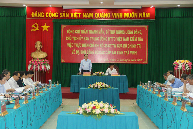 Lãnh đạo Đảng kiểm tra công tác tổ chức Đại hội đảng bộ các cấp - Ảnh 1.
