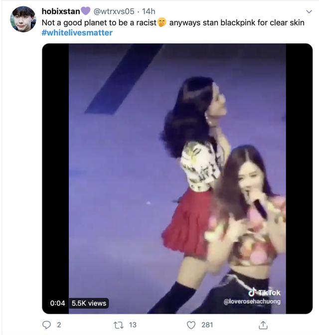 Fans K-POP chiếm lĩnh Hashtag #WhiteLivesMatter - Ảnh 5.