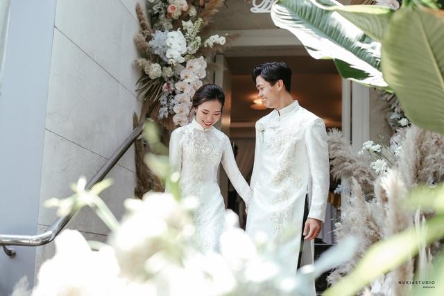 ẢNH: Công Phượng bảnh bao trong lễ đính hôn - Ảnh 5.