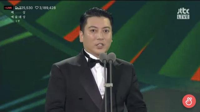 Baeksang Hàn Quốc lần thứ 56: Cặp đôi Hạ cánh nơi anh bị giải thưởng ngó lơ, dàn sao Thế giới hôn nhân thắng lớn - Ảnh 12.
