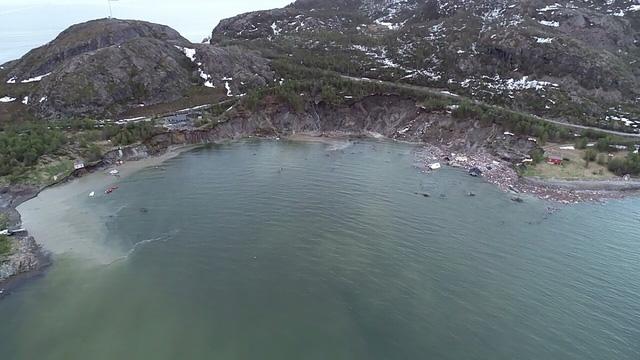 Lở đất kinh hoàng tại Na Uy, hàng loạt ngôi nhà bị cuốn ra biển - Ảnh 3.