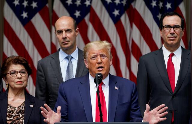 """Tổng thống Trump: Kinh tế Mỹ đang """"hồi phục mạnh mẽ"""" - ảnh 1"""