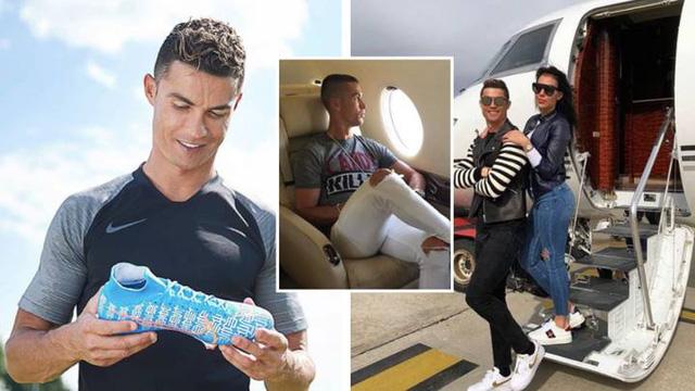 Ronaldo trở thành tỷ phú đầu tiên của bóng đá thế giới - Ảnh 1.