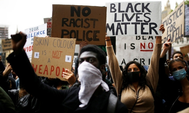 Biểu tình chống phân biệt chủng tộc lan rộng toàn cầu - Ảnh 1.