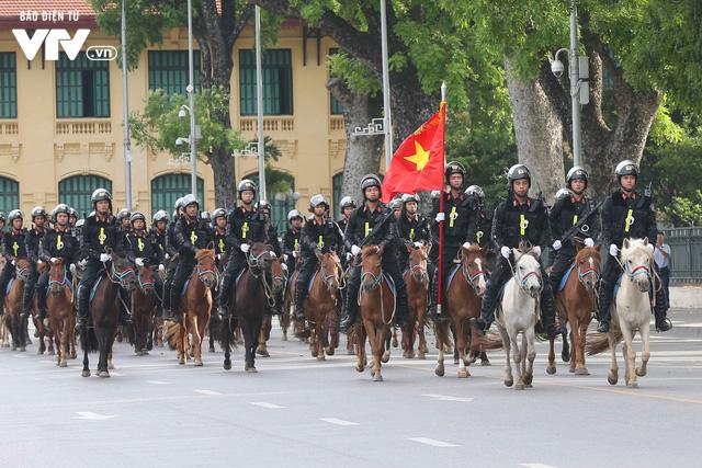 Đội tuấn mã của lực lượng Cảnh sát cơ động Kỵ binh: Nhỏ mà có võ - Ảnh 1.