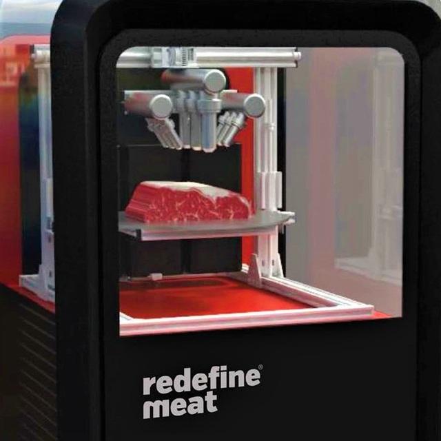 Thưởng thức thịt in 3D với vị như thịt bò thượng hạng - Ảnh 1.