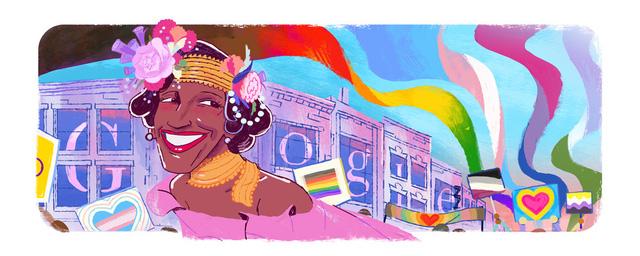 Google vinh danh Marsha P. Johnson - người tiên phong đòi quyền cho cộng đồng LGBTQ+ - Ảnh 1.
