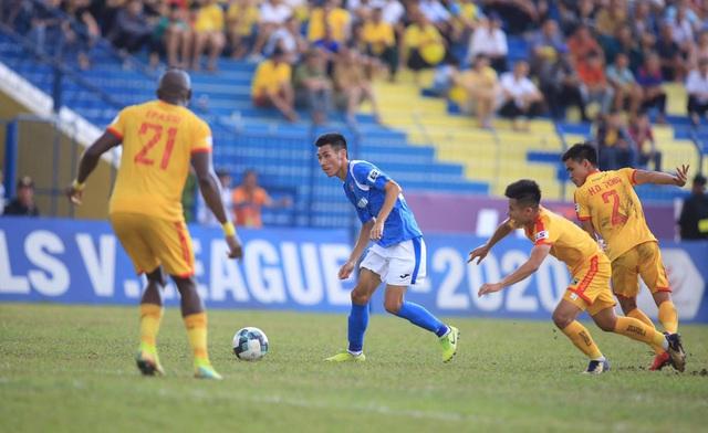 Chùm ảnh: Đình Tùng và Samson tỏa sáng, CLB Thanh Hóa đánh bại Than Quảng Ninh (Vòng 7 V.League) - Ảnh 6.