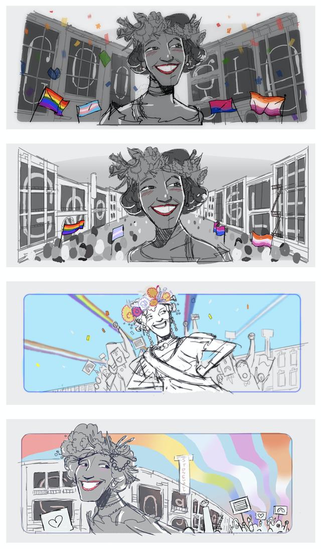 Google vinh danh Marsha P. Johnson - người tiên phong đòi quyền cho cộng đồng LGBTQ+ - Ảnh 2.