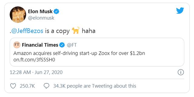 Elon Musk vs Jeff Bezos: Cà khịa không phải lần đầu, cuộc chiến đã có từ lâu - Ảnh 1.
